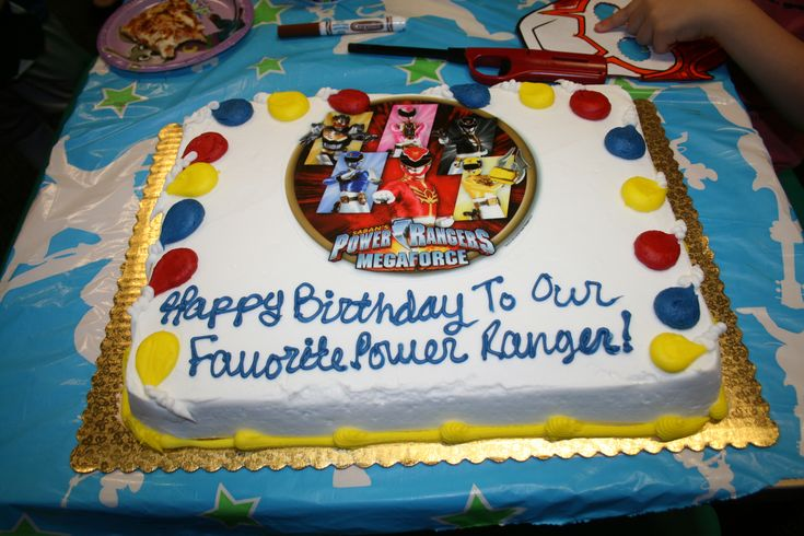(Video) Power Rangers Birthday Party #PowerRangers