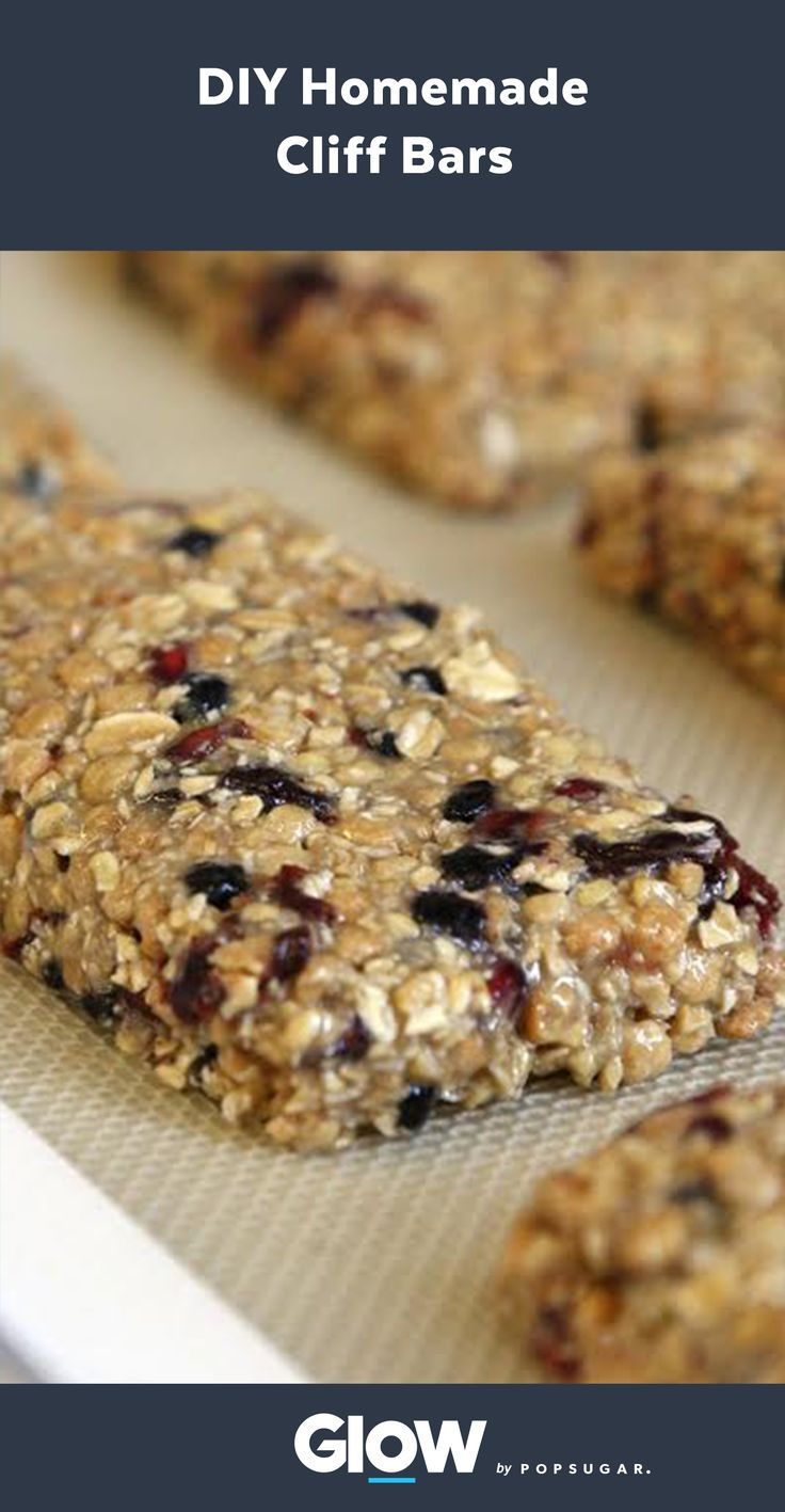 Learn how to make your own clif energy bars at home with just a few ingredients!