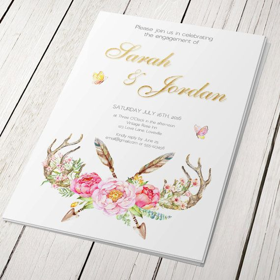 The 25 best ideas about Engagement Invitation Cards – Engagement Invitation Cards Templates