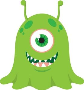 free cute monster clip art | Monster Clip Art Images Monster Stock Photos Clipart Monster ...
