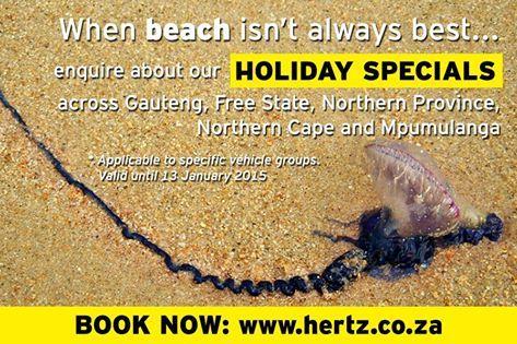Holiday Specials at Hertz
