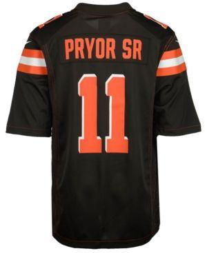 Nike Men's Terrelle Pryor Cleveland Browns Game Jersey  - Brown XXL