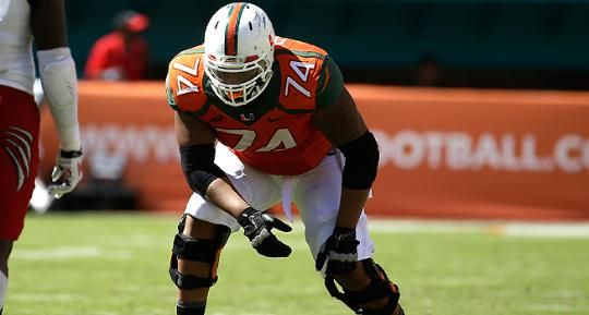 New York Giants draft Miami OL Ereck Flowers in first round