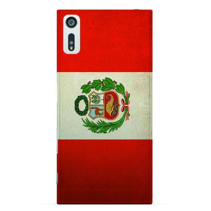 phone case for sony xperia xz Peru flag pattern for sony xperia xz case