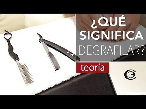 Navaja de Afeitar ➤ Navaja para Degrafilar   ¿Qué es Degrafilar? ★ Teoría - YouTube