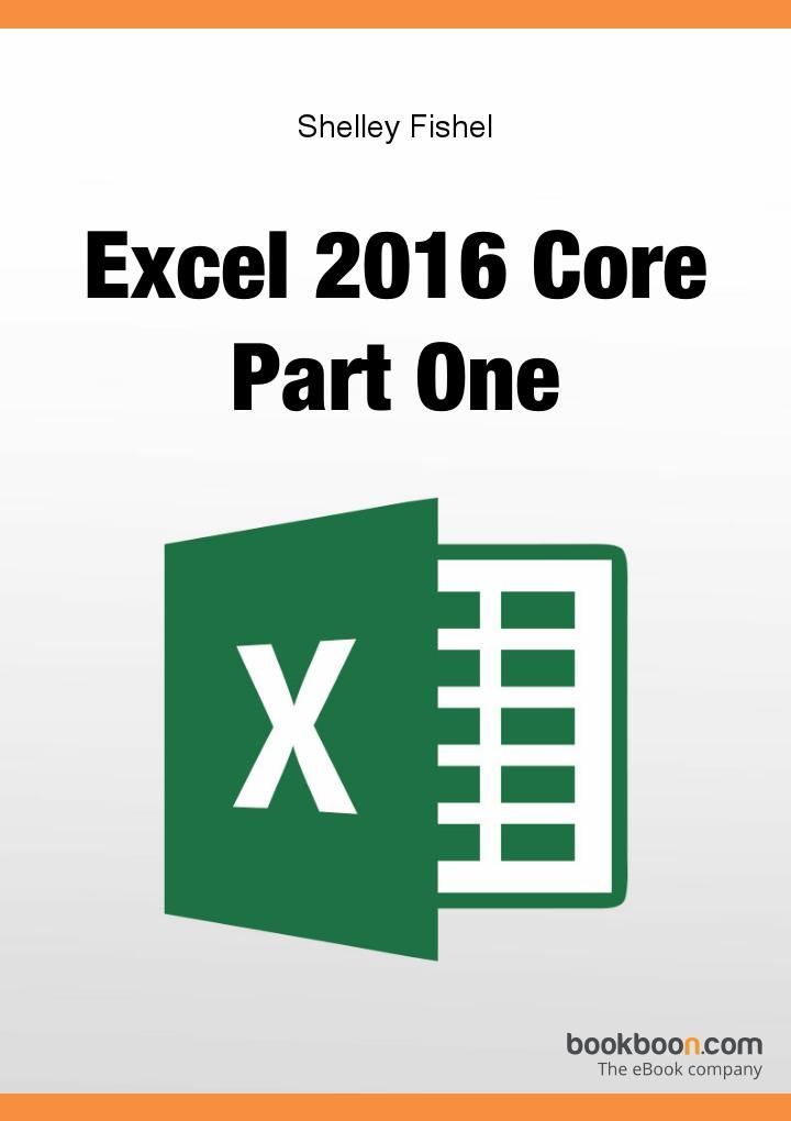 Excel 2016 Core Part One book available on Bookboon  This user guide will take you through all the things you need to know when using Excel at a simple level.