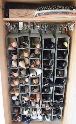 Utterly Organised: DIY Ikea Shoe Closet http://utterlyorganised.blogspot.com.au/