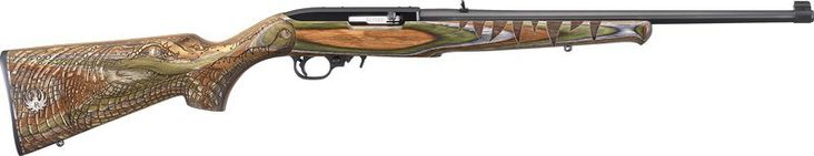 New 10/22 Gator Engraved Laminated Stock .22LR $369 - http://www.gungrove.com/new-1022-gator-engraved-laminated-stock-22lr-369/