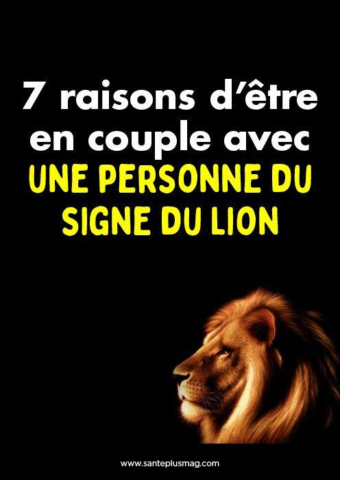 7 raisons d'être en couple avec une personne du signe du Lion