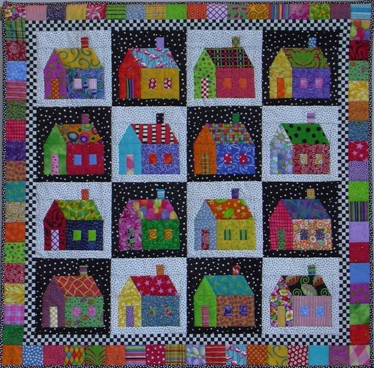 Sought-after ... by Tina Curran | Quilting Pattern - Looking for your next project? You're going to love Sought-after Neighborhood by designer Tina Curran. - via @Craftsy