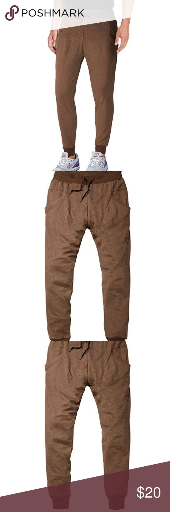 men's brown jogger lounge pants Never worn. Only washed. Very comfy looking! Pants Sweatpants & Joggers