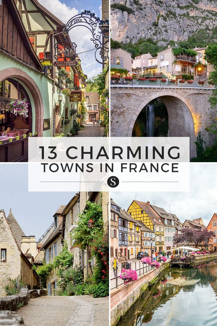 the most charming towns in france