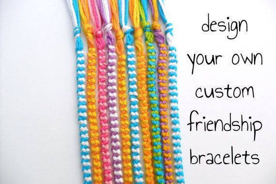 10 Custom Friendship Bracelets Bulk Order - Bulk Friendship Bracelets