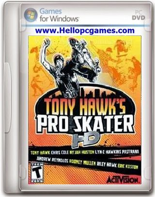 Tony Hawk's Pro Skater HD PC Game File Size: 936.30 MB System Requirements: OS: Windows XP,Vista,7 CPU: Intel Core 2 Duo @ 2.4 GHz / AMD Athlon 64 X2 5200+ RAM: 2 GB Hard Drive: 2 GB free Video Memory: 256 MB nVidia GeForce 8600 / ATI Radeon HD 3650 Sound Card: Yes DirectX: 9.0c …