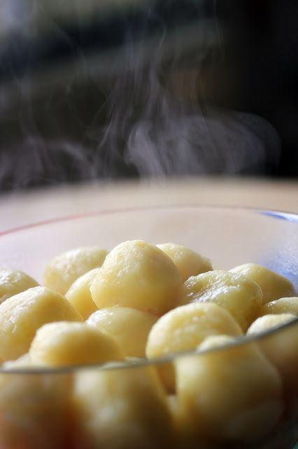 Sachen die glücklich machen: Schlesische Kartoffelklöße/Knödel (Kluski śląskie)