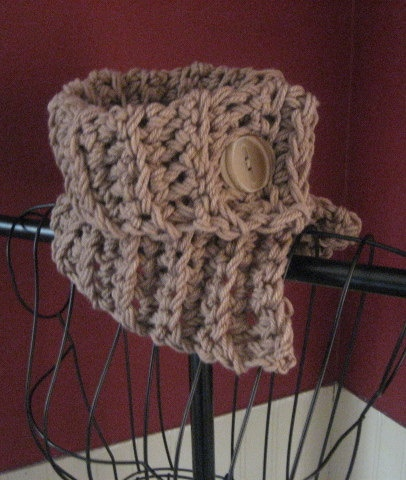 Crocheted Neck Warmer Cowl Scarf Free By