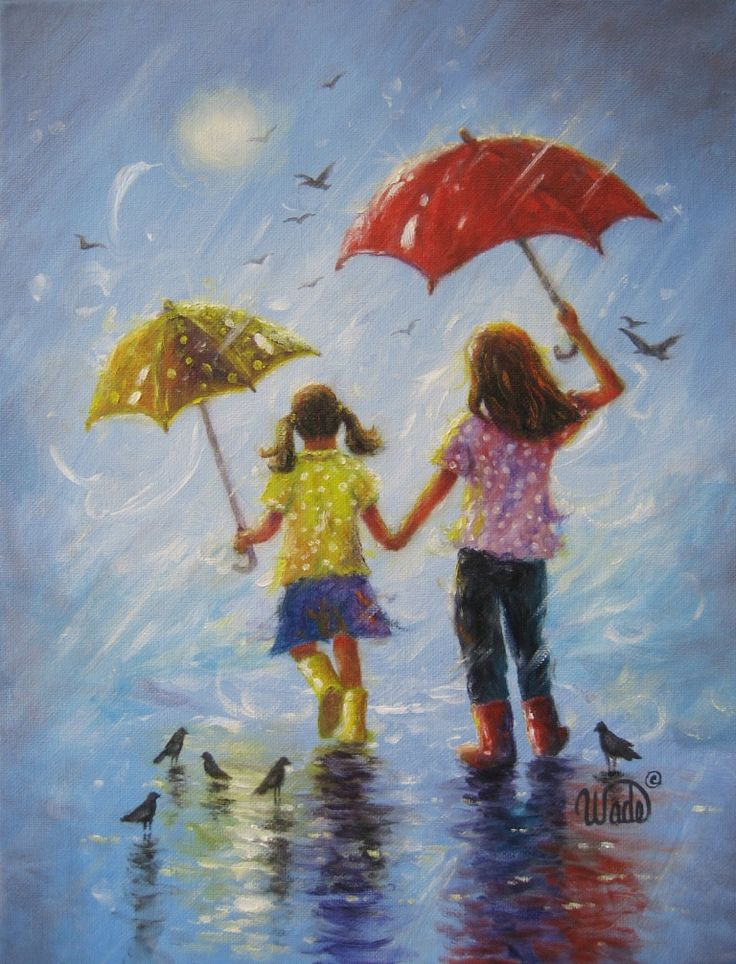 201 best rainy days images on pinterest rainy days for Mural on indian red ground