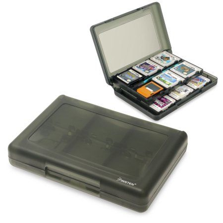 Insten 24-in-1 Game Card Case For Nintendo 3DS / 3DS XL LL, Smoke - Walmart.com