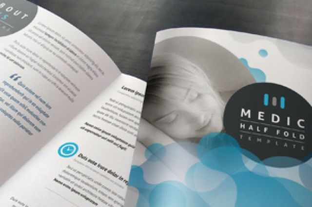 Our 17 x 11in bi-fold medical brochure is ideal to create an effective corporate brochure template. Update photos and pick your...