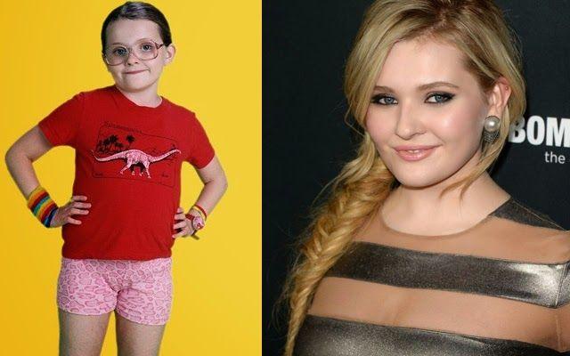 Abigail Breslin    Quem lembra dessa menina? Ficou mais conhecida pelo filme Pequena Miss Sunshine de 2006. Ela era pequena e eu já era quase adulta. Hoje, aos 18 anos ela tem mais peito do que eu com vinte e poucos. Pode chorar?