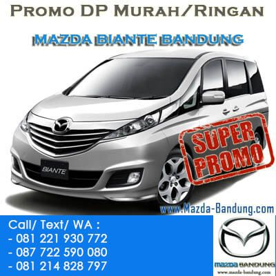 Promo Mazda Biante Bandung.Diskon,DP Murah/Ringan Mazda Biante