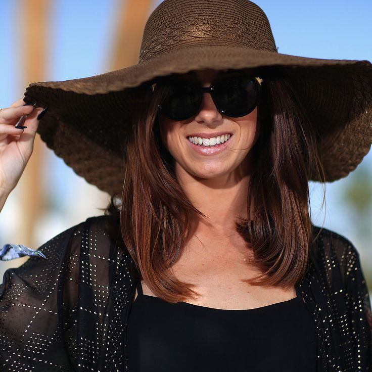 Floppy Sun Hats: Just the right floppy hat keeps you cool in the shade while perfectly accentuating any outfit.