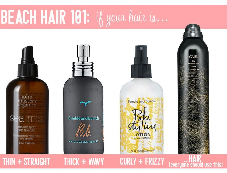 Beach Hair 101: The Best 4 Products For Perfectly Beachy Locks