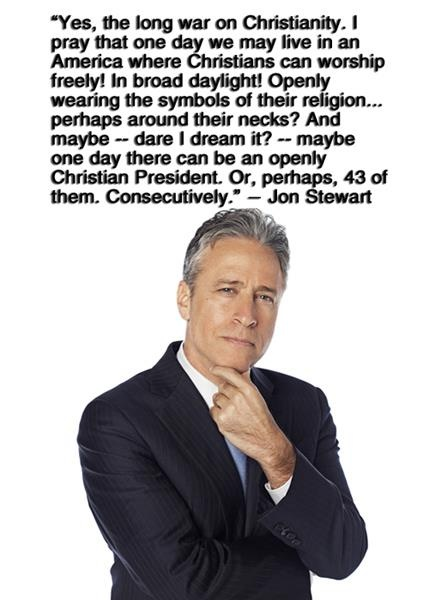 Ha. Love Jon Stewart.