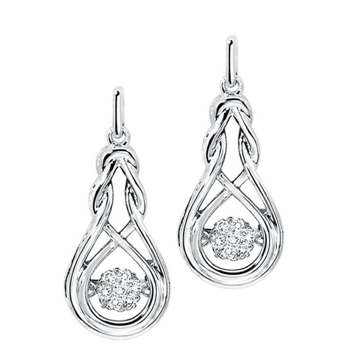 9 best rhythm of love images on pinterest diamond pendant diamond sterling silver rhythm of love diamond earrings 015 carat total aloadofball Images
