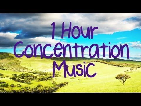 1 HOUR! Concentration Music   Improve focus! Instrumental music to improve learning and concentratio