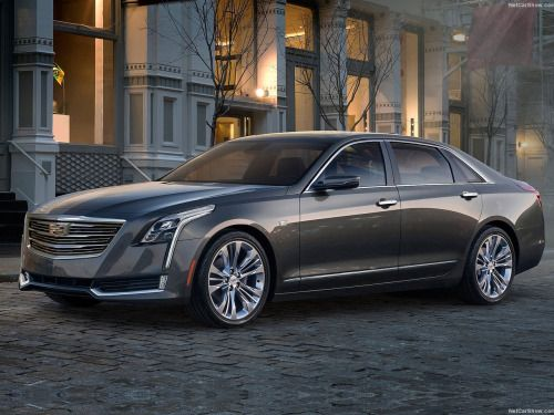 """2015 New York Auto Show: Cadillac CT6, bigger than a 7 Series and lighter than a 5 Series…Yup, that's no April fool: the new Cadillac CT6, with its 5184 mm in lenght(3106 in wheelbase, 1879 in width and 1472 in hight), is bigger than a BMW 7 Series but, as Cadillac points out, """"approximate weight, agility and efficiency of the smaller Cadillac CTS – which is lighter than a BMW 5-Series. The CT6 is lighter than the BMW 5-Series, 6-Series and Mercedes-Benz E-Class."""" Not bad, isn't it?Design…"""