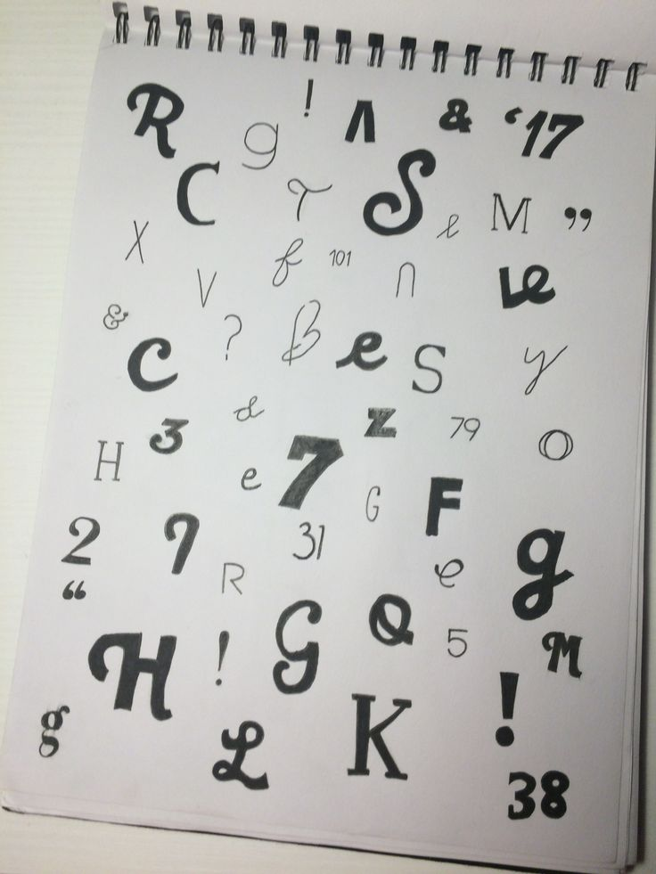 there are some letters that were inspired by a magazine