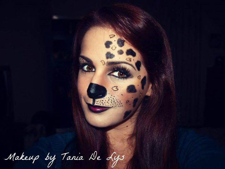 Cute dog makeup