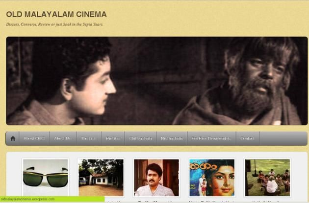 """""""Old Malayalam Cinema' was born out of frustration at the criminal intent of not having a willingness to share information about old Malayalam films."""" Some of the films that are thought to be out-of-print are in the hands of private film collectors who do not want to share them. """"There is very little available in print media on old Malayalam films. For instance, The Hindu's 'Old is Gold' column, but such space is limited."""""""