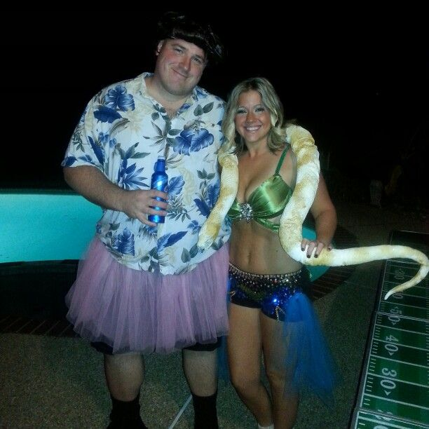 couples halloween costume ace ventura and britney spears im a slave for you - Ace Ventura Halloween Costumes