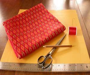 Homemade pocket squares!