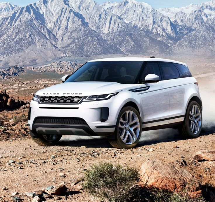 Beauty plus brawn The 2020 Range Rover Evoque makes its