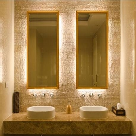 Backlit vanity mirrors example of mirrors in the dressing room  17 Best  images about Residential. Backlit Bathroom Mirrors  universalcouncil info