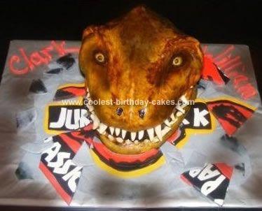 323 best Party Dinosaur images on Pinterest Dino cake Cakes