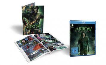 [Angebot] Arrow Staffel 3 inkl. Comicbuch (exklusiv bei Amazon.de) [Blu-ray] [Limited Edition] für 1997
