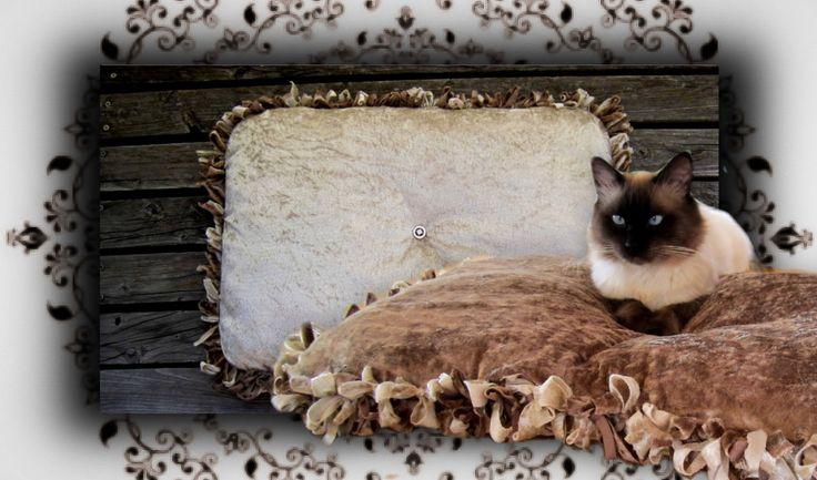 DIY 😻 Knoten Kuschelkissen für Katzen & Hunde | Handmade No sew cat bed