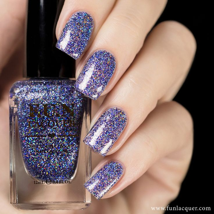 Shimmer And Sparkle Nail Polish: 25+ Trending Purple Glitter Nails Ideas On Pinterest