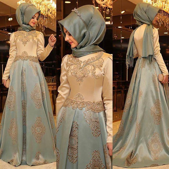 @Regrann from @pinarsems -  Ve HAREM Abiyemizin mavi rengi. Mavi diyorum ama çok güzel bir renk. Bu yıl sizin özel bir gününüz olsun yeter ki, biz de herkese hitap edicek abiye var inşallah. #pınarşems #haremabiye  #newcolection #newcollection2016 #hijab #hijabfashion