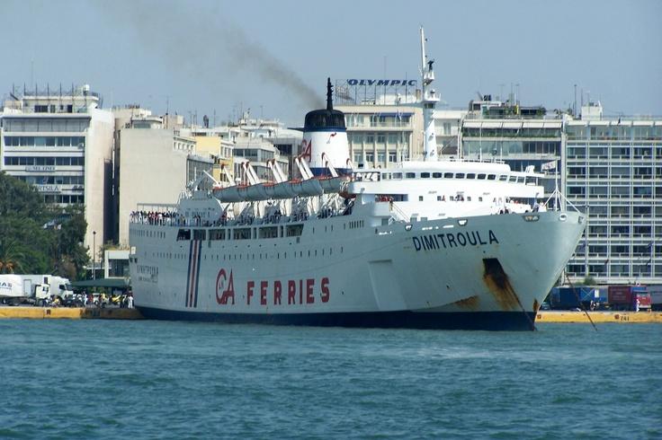 Η ''ΔΗΜΗΤΡΟΥΛΑ'' του Αγούδημου. Διαλύθηκε σε διαλυτήριο πλοίων της Τουρκίας.