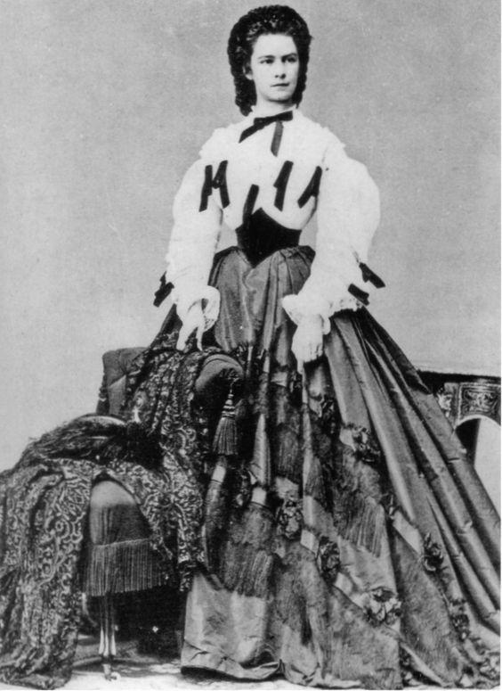 Elisabeth d'autriche 1862