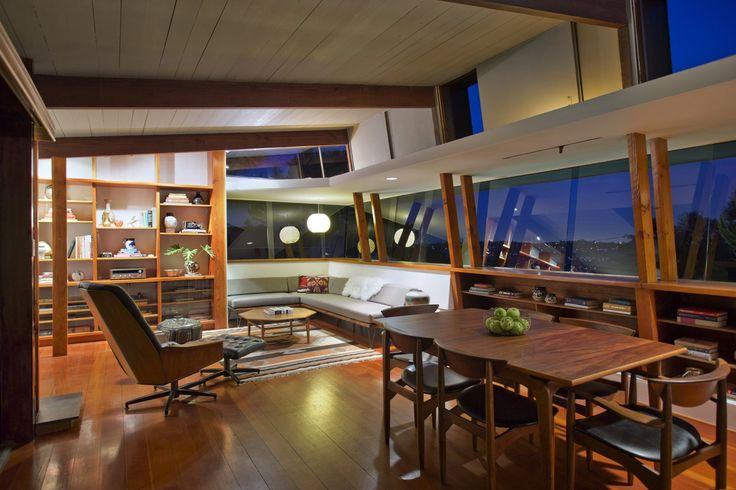 Pilot House, Los Angeles, CA, USA (A. Quincy Jones, Whitney Smith, 1948) [1600x1067] - Interior Design Ideas, Interior Decor and Designs, Home Design Inspiration, Room Design Ideas, Interior Decorating, Furniture And Accessories
