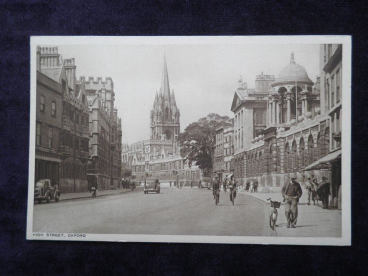 VINTAGE POSTCARD OF HIGH STREET, OXFORD PUBLISHED BY ALFRED SAVAGE LTD., OXFORD | eBay