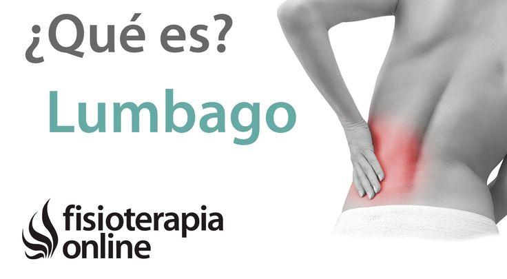 Lumbalgia o lumbago. Qué es, causas, síntomas y tratamiento.