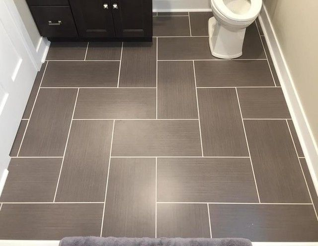 11 Best 6x12 Tile Floor Patterns Images On Pinterest Tile Floor Herringbone Bathroom Flo Best Bathroom Flooring Patterned Floor Tiles Bathroom Floor Tile Small