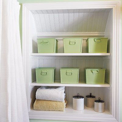 Carve Out a Wall Niche  Carve out a cubby  Frame the recess  line. 78  images about Attic Bathroom on Pinterest   Sarah richardson